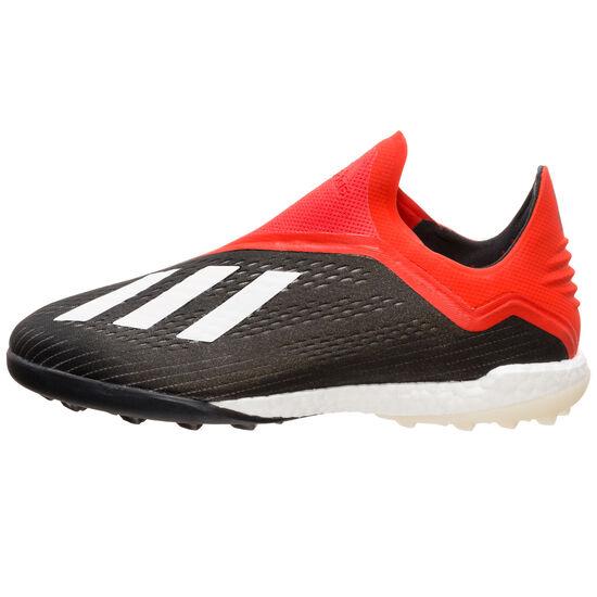 X 18+ TF Fußballschuh Herren, schwarz / rot, zoom bei OUTFITTER Online