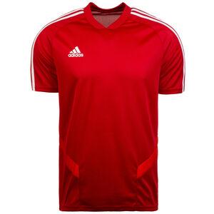 Tiro 19 Trainingsshirt Herren, rot / weiß, zoom bei OUTFITTER Online