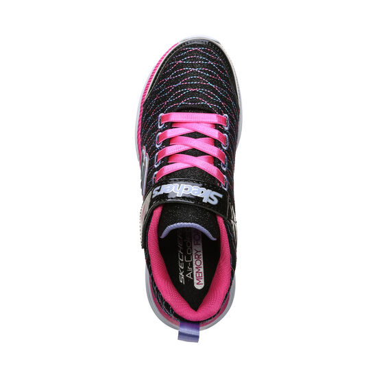Move`N Groove Sparkle Spinner Sneaker Kinder, schwarz / pink, zoom bei OUTFITTER Online
