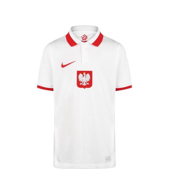Polen Trikot Home Stadium EM 2021 Kinder, weiß / rot, zoom bei OUTFITTER Online