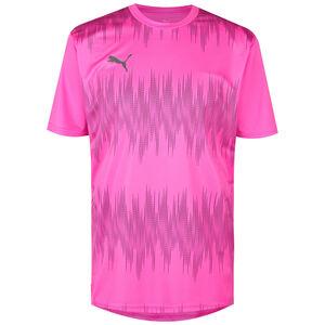 ftblNXT Graphic Core Trainingsshirt Herren, pink / schwarz, zoom bei OUTFITTER Online