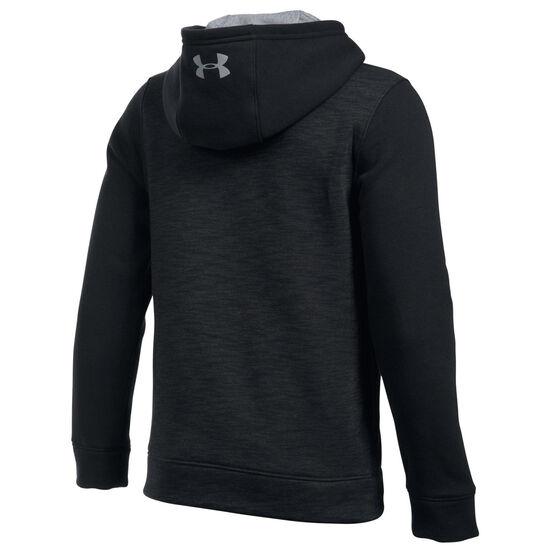 SC Fleece Logo Kapuzenpullover Kinder, schwarz, zoom bei OUTFITTER Online