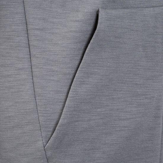 Optic Fleece Kapuzenjacke Herren, grau, zoom bei OUTFITTER Online
