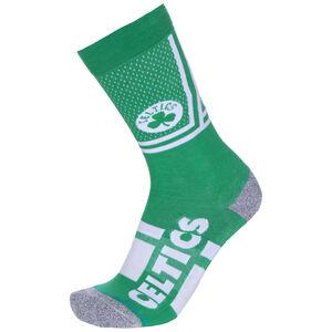 NBA Boston Celtics Shortcut 2 Socken, grün / weiß, zoom bei OUTFITTER Online