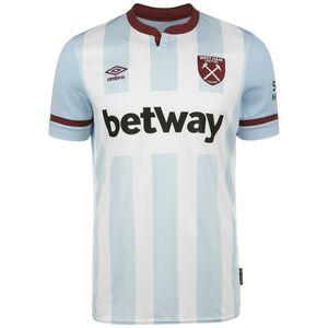 West Ham United Trikot Away 2021/2022 Herren, hellblau / weiß, zoom bei OUTFITTER Online