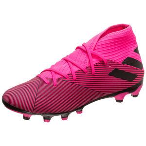 Nemeziz 19.3 MG Fußballschuh Herren, pink / schwarz, zoom bei OUTFITTER Online