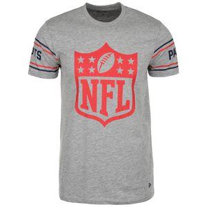 NFL Badge New England Patriots T-Shirt Herren, grau / rot, zoom bei OUTFITTER Online