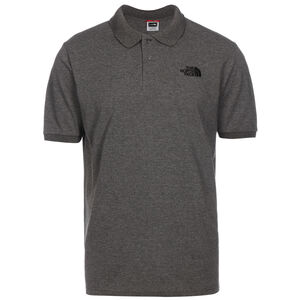 Piquet Poloshirt Herren, grau / schwarz, zoom bei OUTFITTER Online