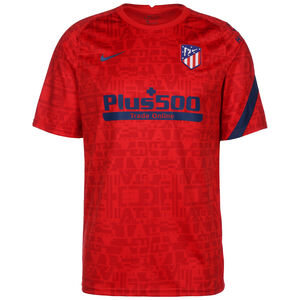 Atletico Madrid Breathe Trainingsshirt Herren, rot / blau, zoom bei OUTFITTER Online