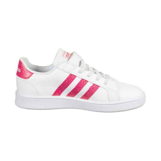 Grand Court Sneaker Kinder, weiß / korall, zoom bei OUTFITTER Online