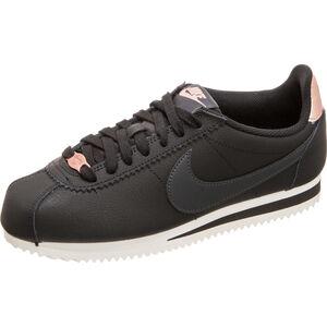 Classic Cortez Leather Sneaker Damen, schwarz / anthrazit, zoom bei OUTFITTER Online