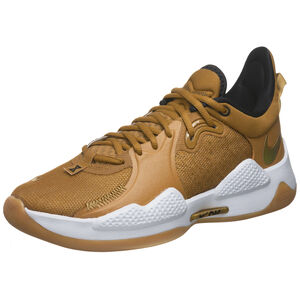 PG 5 Basketballschuh Herren, gold / weiß, zoom bei OUTFITTER Online