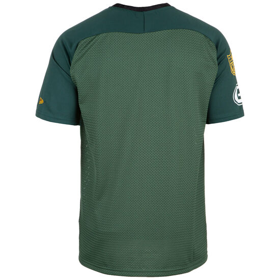 NFL Green Bay Packers Stripe Oversized T-Shirt Herren, grün / gelb, zoom bei OUTFITTER Online