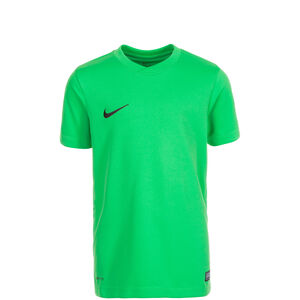 Park VI Fußballtrikot Kinder, grün / schwarz, zoom bei OUTFITTER Online