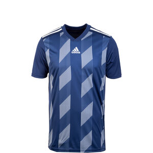 Striped 19 Fußballtrikot Kinder, dunkelblau / weiß, zoom bei OUTFITTER Online