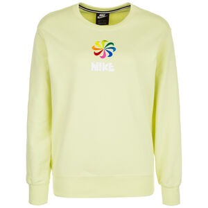 Crew Fleece 1 Sweatshirt Damen, hellgrün, zoom bei OUTFITTER Online