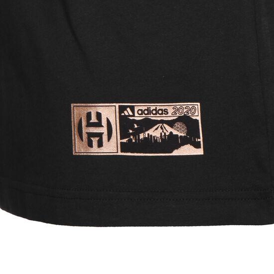 NBA James Harden Geek Up Kick T-Shirt Herren, schwarz, zoom bei OUTFITTER Online