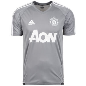 Manchester United Authentic Trainingsshirt Herren, Grau, zoom bei OUTFITTER Online