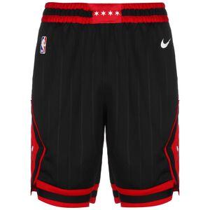 NBA Chicago Bulls Basketballshort Herren, schwarz / rot, zoom bei OUTFITTER Online