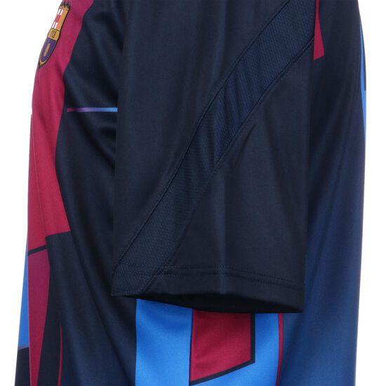 FC Barcelona Pre-Match Trainingsshirt Herren, blau / dunkelrot, zoom bei OUTFITTER Online