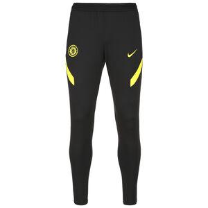 FC Chelsea Strike Trainingshose Herren, schwarz / gelb, zoom bei OUTFITTER Online