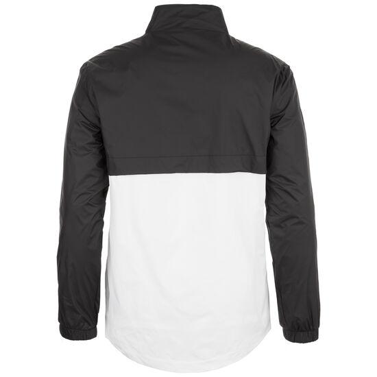 Stand Up Collar Pull Over Jacke Herren, schwarz / weiß, zoom bei OUTFITTER Online