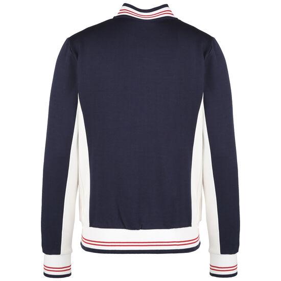 Settana Classic Vintage Track Jacke Herren, dunkelblau / weiß, zoom bei OUTFITTER Online