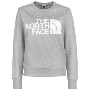 Standard Crew Sweatshirt Damen, hellgrau / weiß, zoom bei OUTFITTER Online