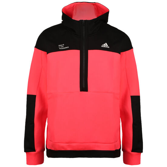 Tech Pullover Sweatjacke, pink / schwarz, zoom bei OUTFITTER Online