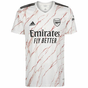 FC Arsenal Trikot Away 2020/2021 Herren, weiß / schwarz, zoom bei OUTFITTER Online