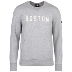 NBA Wordmark Boston Celtics Sweatshirt Herren, hellgrau / weiß, zoom bei OUTFITTER Online