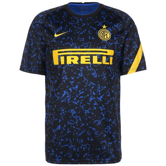Inter Mailand Breathe Trainingsshirt Herren, dunkelblau / gelb, zoom bei OUTFITTER Online