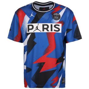 Paris St.-Germain Jordan Mesh Trainingsshirt Herren, blau / rot, zoom bei OUTFITTER Online