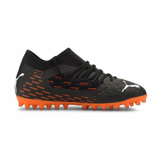 Future 6.3 NETFIT MG Fußballschuh Kinder, schwarz / orange, zoom bei OUTFITTER Online
