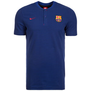 FC Barcelona Modern Authentic Poloshirt Herren, Blau, zoom bei OUTFITTER Online