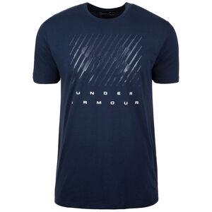 HeatGear Branded Trainingsshirt Herren, Blau, zoom bei OUTFITTER Online