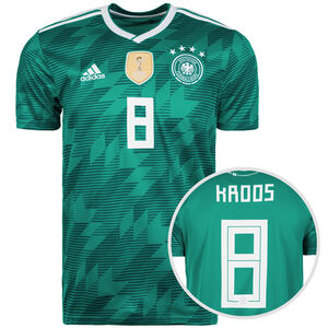DFB Trikot Away Kroos WM 2018 Herren, Grün, zoom bei OUTFITTER Online