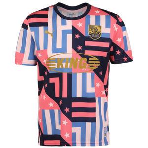 Havanna Fußballtrikot Herren, rosa / blau, zoom bei OUTFITTER Online
