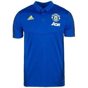 Manchester United Poloshirt Herren, blau / gelb, zoom bei OUTFITTER Online