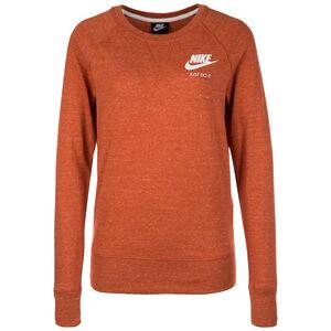 Gym Vintage Crew Sweatshirt Damen, braun / weiß, zoom bei OUTFITTER Online