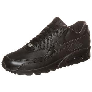 Air Max 90 Leather Sneaker Herren, Schwarz, zoom bei OUTFITTER Online