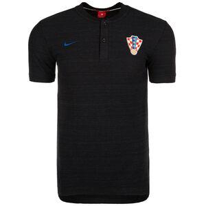 Kroatien Authentic Poloshirt WM 2018 Herren, Schwarz, zoom bei OUTFITTER Online