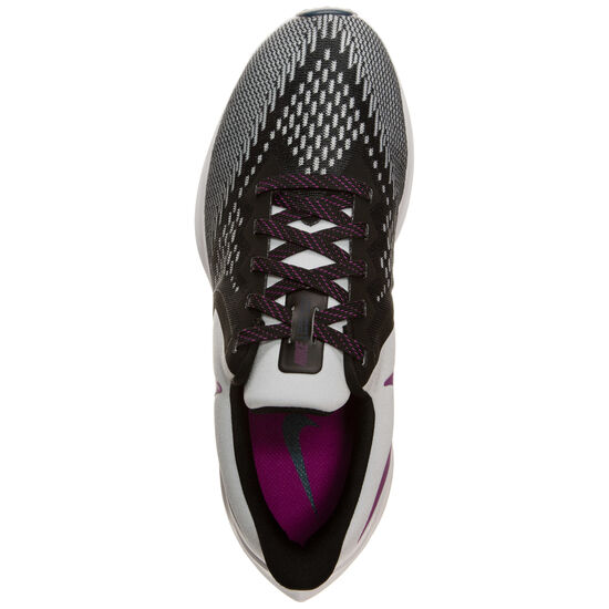 Air Zoom Winflo 6 Laufschuh Damen, schwarz / lila, zoom bei OUTFITTER Online