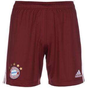 FC Bayern München Shorts Home 2021/2022 Herren, rot, zoom bei OUTFITTER Online