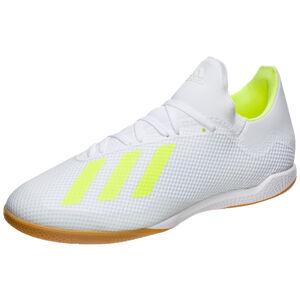 X 18.3 Indoor Fußballschuh Herren, weiß / neongelb, zoom bei OUTFITTER Online