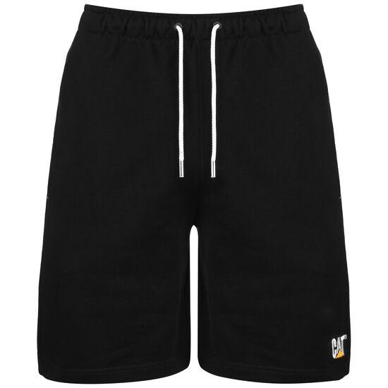 CAT Logo Sweat Short Herren, schwarz / weiß, zoom bei OUTFITTER Online