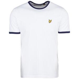 Ringer T-Shirt Herren, weiß, zoom bei OUTFITTER Online