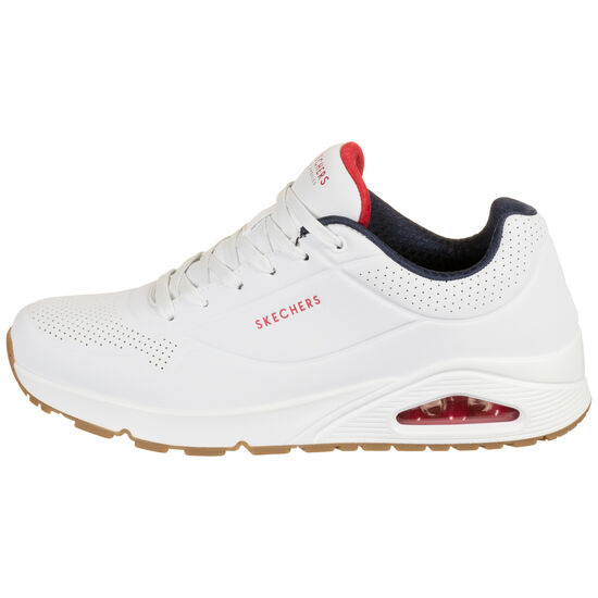 Uno Stand on Air Sneaker Herren, weiß / rot, zoom bei OUTFITTER Online