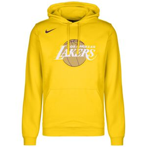 NBA Los Angeles Lakers City Edition Logo Fleece Kapuzenpullover Herren, gelb / weiß, zoom bei OUTFITTER Online