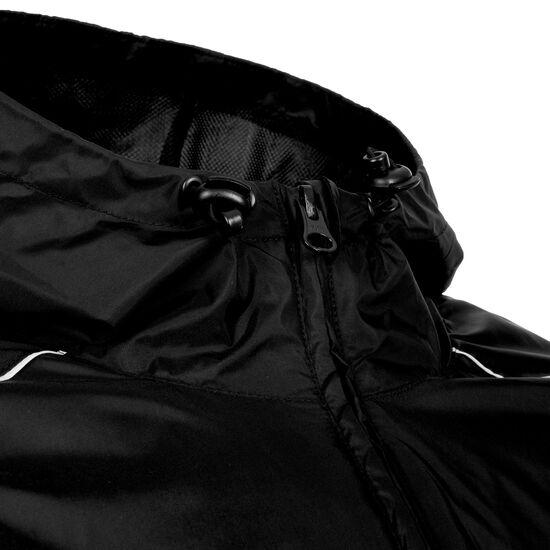 Core 18 Regenjacke Herren, schwarz / weiß, zoom bei OUTFITTER Online